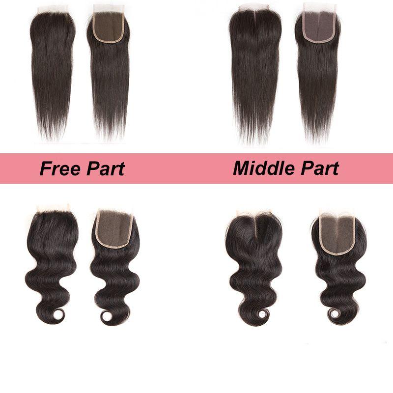 Fastyle Brazilian Human Hair 4Bundles With Closure Brazilian Body Wave Bundles With Closure Wholesale Unprocessed Virgin Hair Weaves