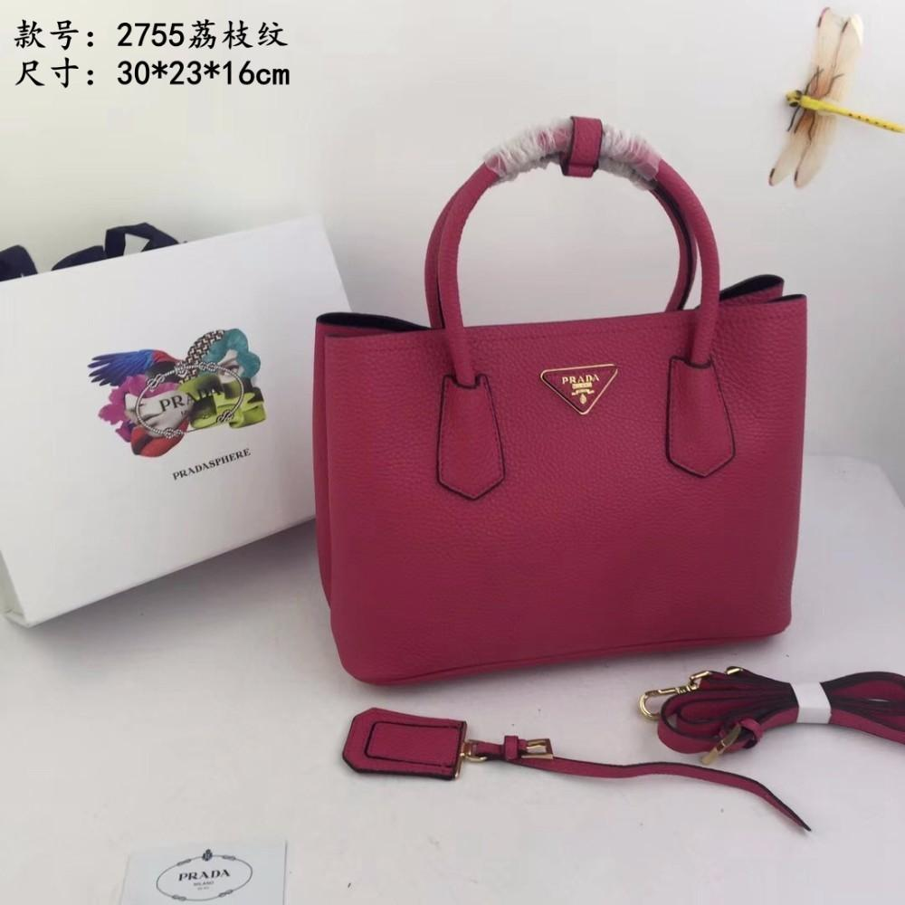 686afff009 2018 New Ladies Original Lychee Grain Leather Exquisite Workmanship ...