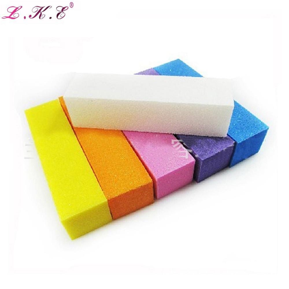 Colorful Nail Art Buffer File Block Pedicure Manicure Buffing ...
