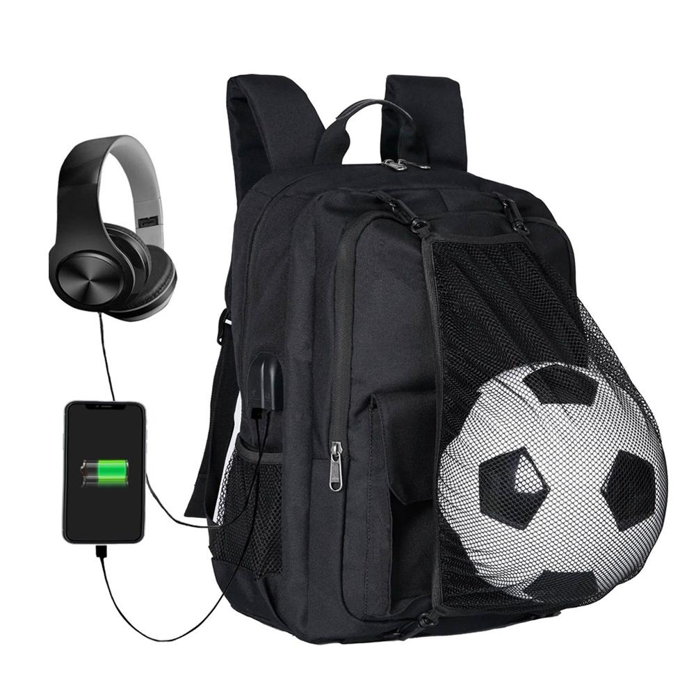 bb8786af35fb 2019 Soccer Backpack Basketball Bag School Bags For Teenager Sport Ball  Pack Laptop Bag Football Net Gym Bags 2018 Newest From Hcaihong