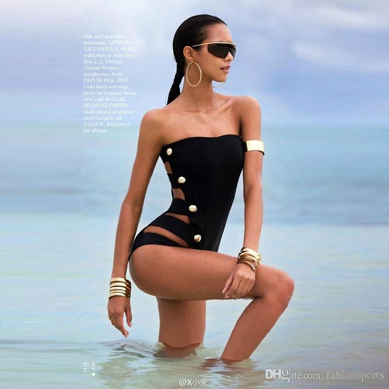 e73b4efb508d3 New Fashion Swimwear Sexy One Piece Biquinis Swimsuit For Women ...