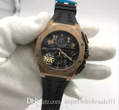 Luxury Brand N8 Mens Watch Quartz Movement Chronograph Stopwatch