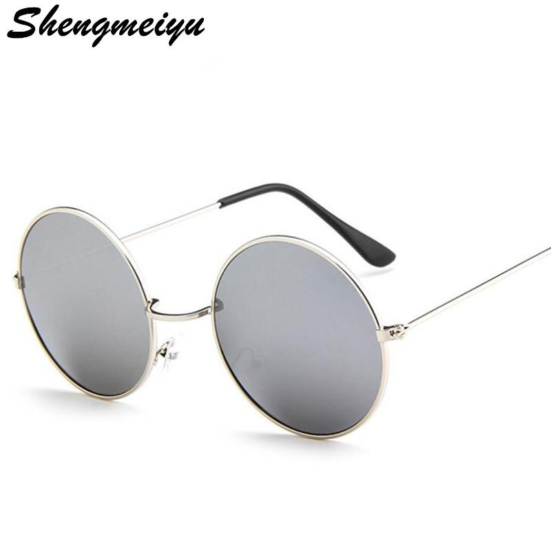4aa70b7e90936 New Brand Designer Classic Round Sunglasses Men Small Vintage Retro John Lennon  Glasses Women Driving Metal Eyewear Sunglasses Online Sunglasses Brands  From ...