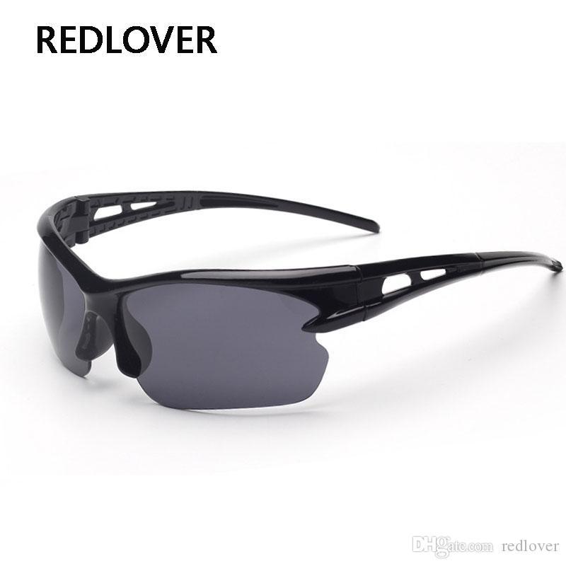fe8b0c2306 Compre 2018 Gafas De Sol De La Visión Nocturna De La Manera Hombres Gafas  De Sol De Diseño De La Marca Hombres Espejo De Conducción Gafas De Sol  Escalada De ...
