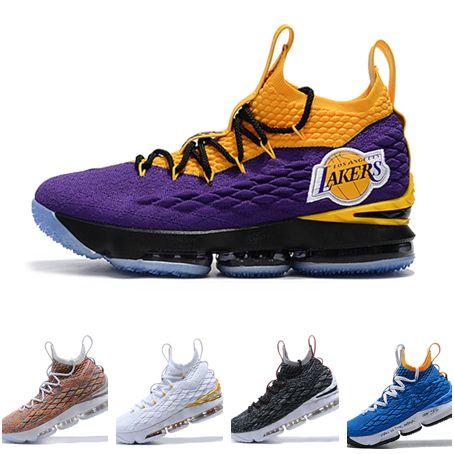 size 40 3ac47 da8d5 new style purple blue womens nike lebron 15 shoes 2f2ea 0dba6