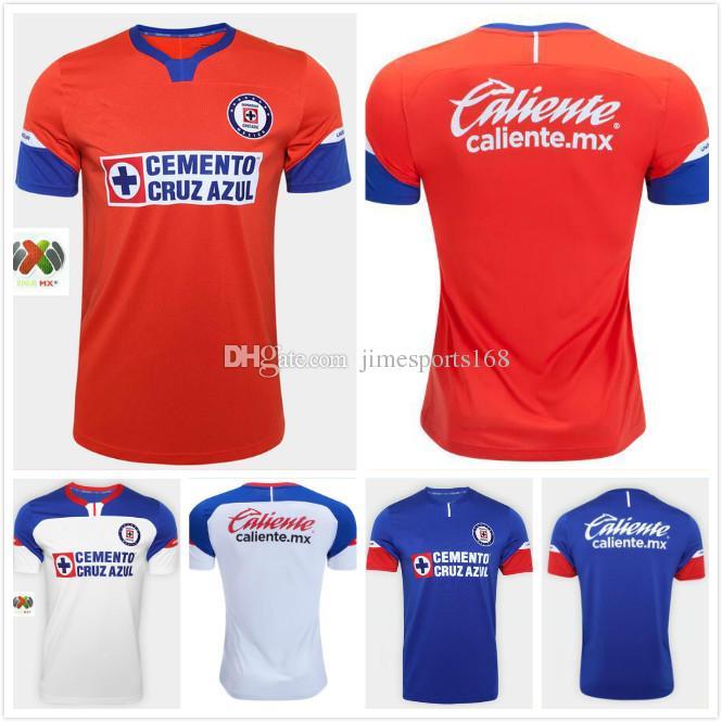 c65db8739 2019 1819 Mexico Clud Cruz Azul Home Soccer Jersey 18 19 Home Away THIRD  JOSUE GUILLERMO GERARDO 2018 2019 Blue Red White Soccer Shirts From  Jimesports168