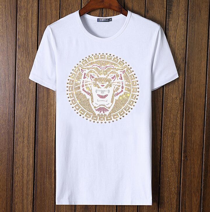 Camiseta hombre manga corta de algodón venta caliente nuevo diseño hombre top tees