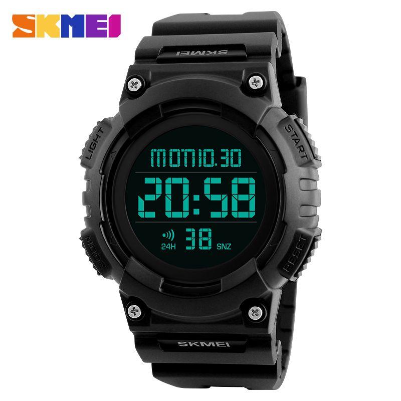 Digitale Uhren Skmei Mode Sport Uhr Männer Wasserdichte Led Digital Uhren Männer Luxus Marke Militär Outdoor Relogio Masculino Uhr Mann Alarm Herrenuhren