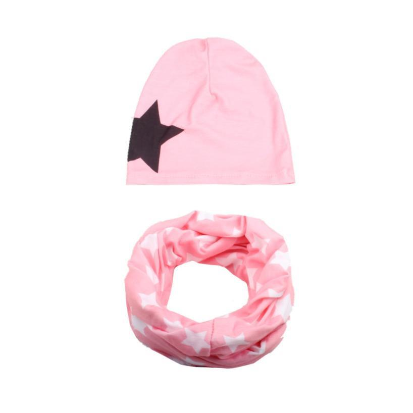 6e365bedf6d MUQGEW Newborn Baby Beanie Hats Headscarf Children Lics Set Bucket ...