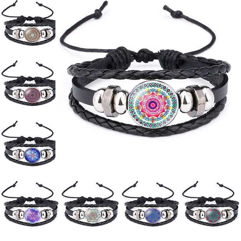 calming beaded id adjustable mandala bracelet product medical