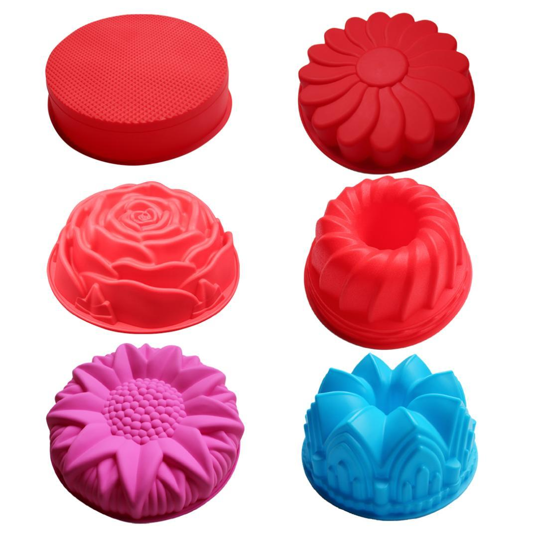 2018 DIY Silicone Cake Moulds Big Round Cake Mold Flower ... Cake Moulds on cake shape, cake plane, cake green, cake moss, cake decorating supplies, cake fruit, cake form, cake moldings, cake design, cake black, cake food, cake ring, cake mix, cake yeast, cake die, cake crimpers,