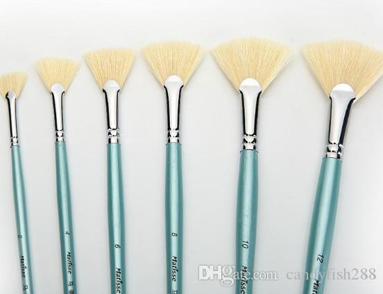 Boyama Malzemeleri Kıl fırça fırça suluboya sanat fan kalem yağı sektörü guaj kanca hattı kalem kalem seti