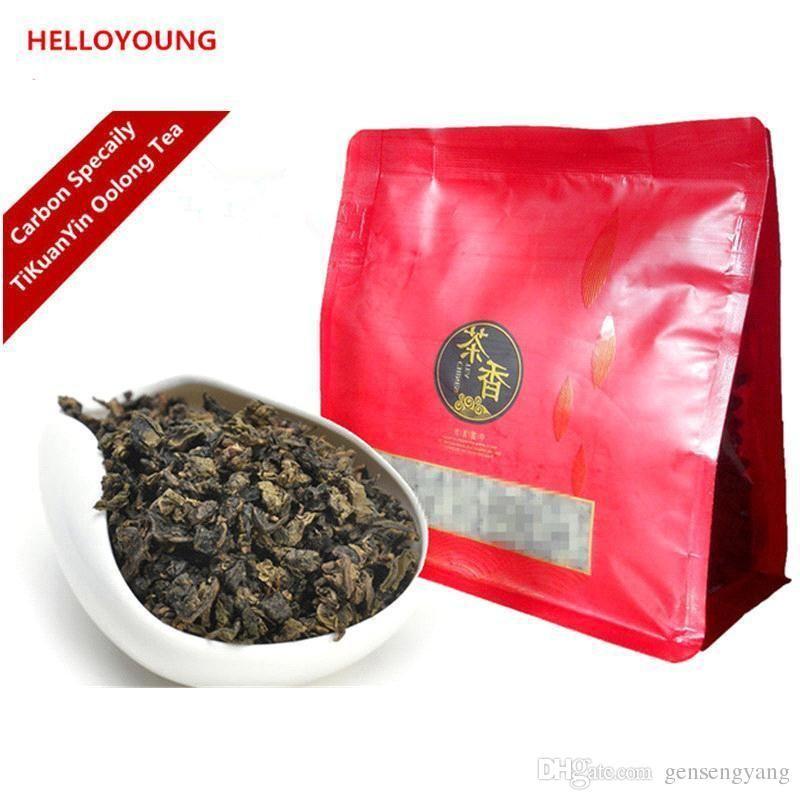 C Wl044 Chinese High Quality Oil Cut Black Oolong Tea 250g Fresh Natural Tea High Cost Effective Slimming Tea