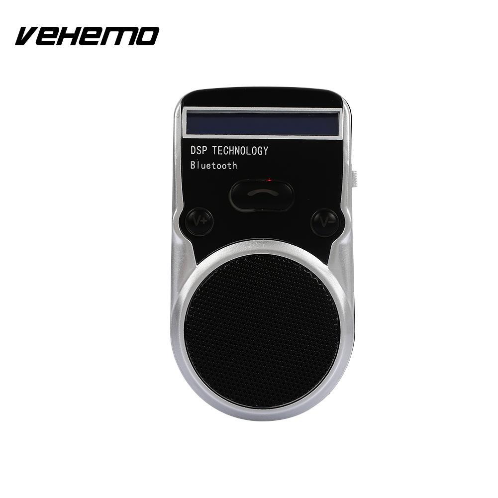 Vehemo Sun Visor Solar Charging Bluetooth Car Kit MP3 Stereo Bluetooth Car  Hands-Free Wireless Transmitter Universal 56adf8af7aa