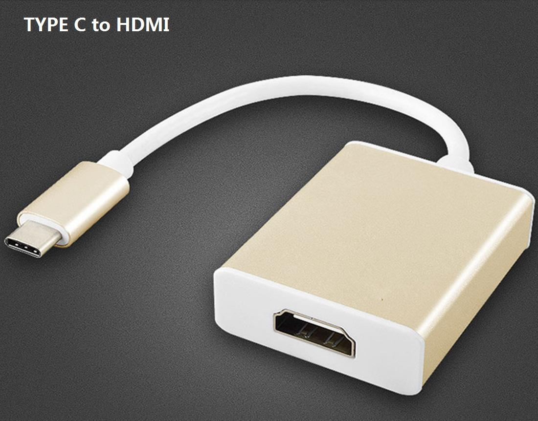 USB 3.1 Type C To Display Port DP MINI DP VGA 1080p HDMI DVI HDTV Adapter Cable for Macbook Chromnook