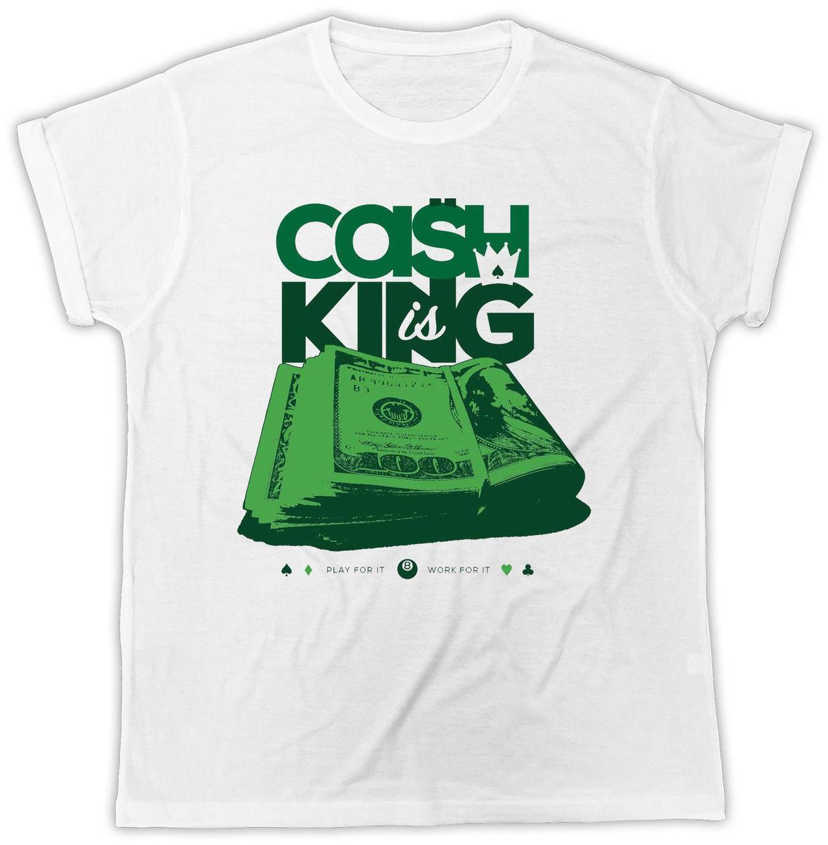 Cash Is King T Shirt Dollar Bill Kid T Ideal Gift Birthday Present T Shirt Summer 2018 Short Sleeve Plus Size White T Shirt Designs Awesome T Shirt Sites
