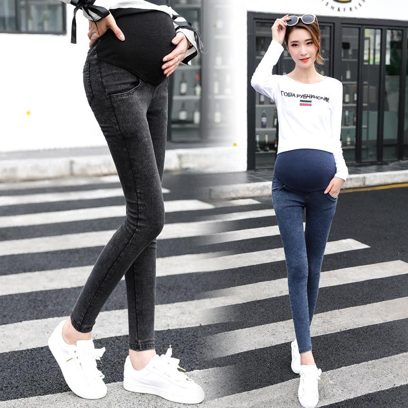 e3603963b5c7c 2019 Mom Denim Overall Trousers Grosses Women Jeans Pregnant Pencil Prop Pants  Clothing For Maternity Clothes Plus Size Embarazada From Rainbowny, ...