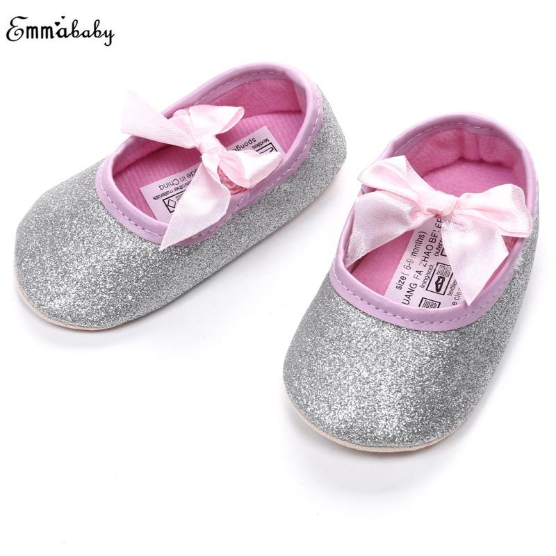 555888801868 Gold Silver Glitter Shoes Baby Infant Baby Shoes Sneaker Anti Slip Soft  Sole For Autumn 0 18M Girl Casual Sport Shoe For Kids Jogging Shoes For  Girls From ...