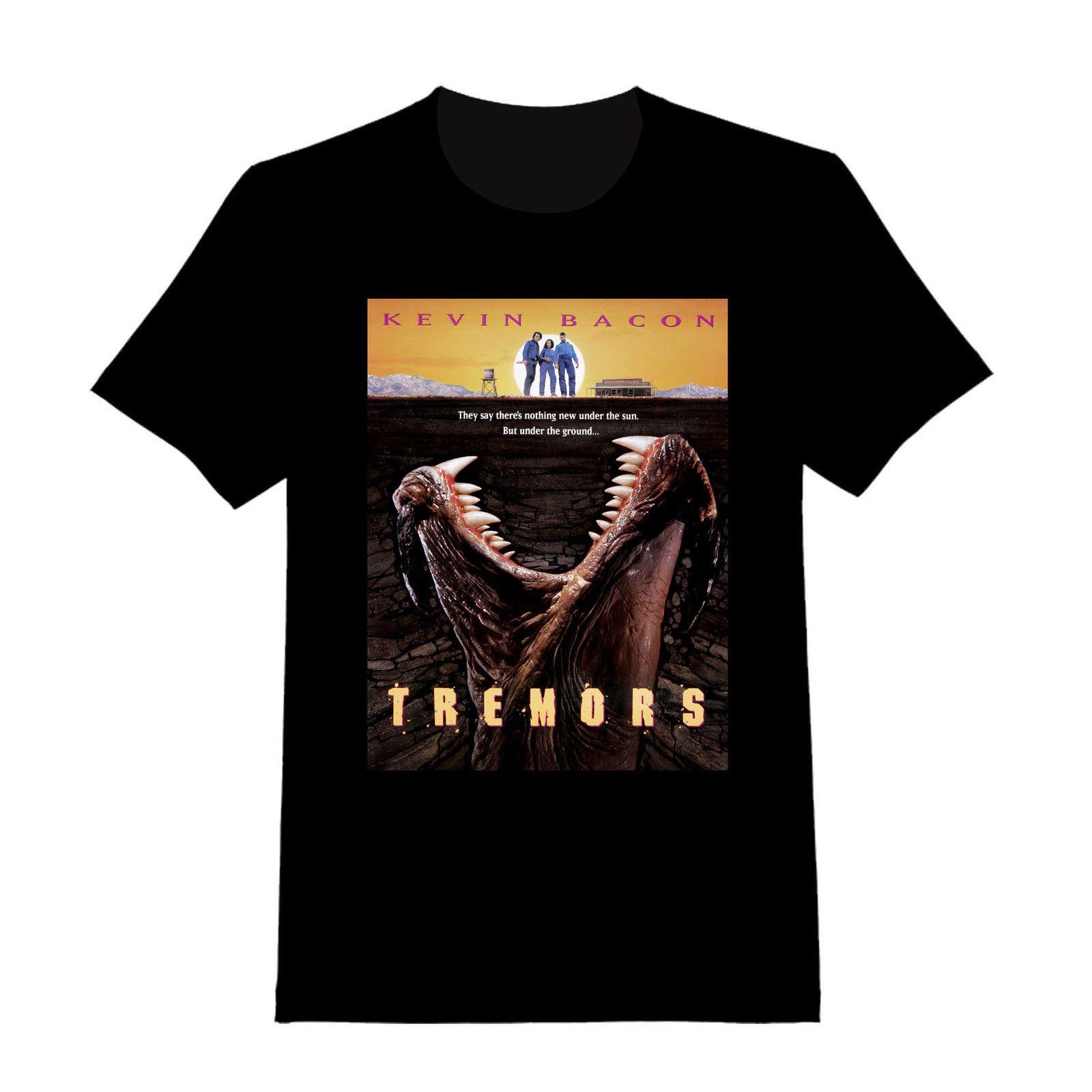 be8f5c497a5 Tremors Custom T Shirt 115 Custom Funny Maker Cool Design Your Own Shirt  100% Cotton Short Sleeve O Neck Tops Tee Shirts Offensive T Shirt T Shirt  Slogan ...