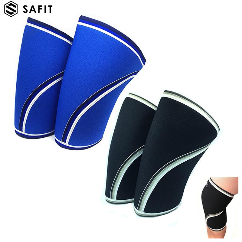 62965cf4db 2019 One Pair Knee Sleeves Compression Neoprene Pads 7mm For Men Women For  Crossfit Squats ,Gym ,Powerlifting ,Weight Lifting By Sports Safety From ...