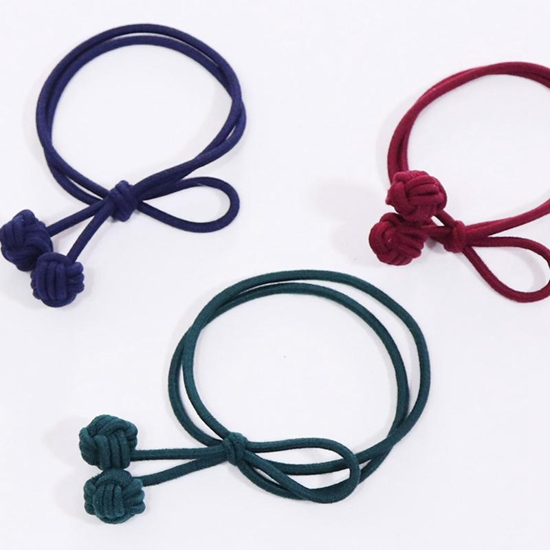 High Quality Elastic Hair Bands Fashion Hair Bows Gilrs Ponytail Holder  Circles Women S Rubber Tie Gum Headwear Ornament Decorative Hair Pieces Hair  ... 752d7264dce