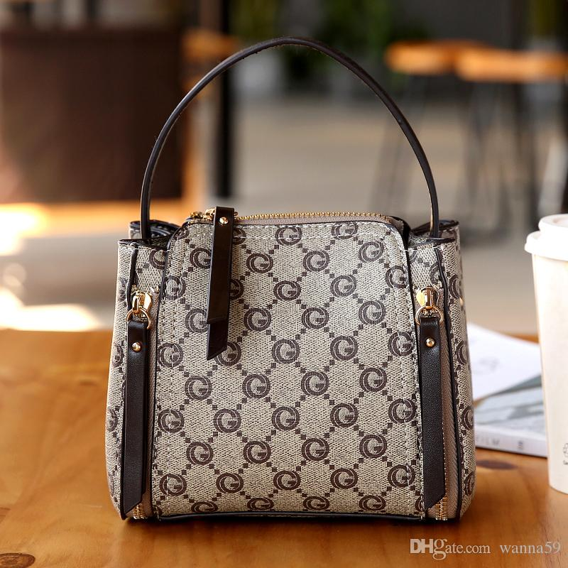 7cbf264046 Designer Handbags New Fashion High Quality Designer Handbag Brand Ladies  Plaid Shoulder Bag Casual Purses Package Totes Clutch Luggage Black Handbags  ...