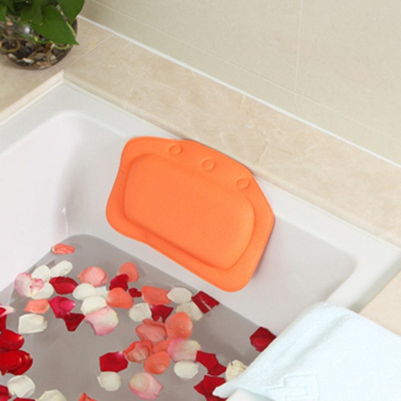Best Bathtub Pillow Headrest Backrest Headrest Suction Cup Pvc Spa ...