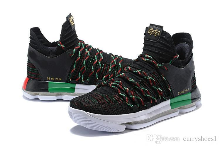 buy online c09b3 e4ea4 ... canada wholesale kd 10 ep basketball shoes for top quality kevin durant  x kds 10s rainbow