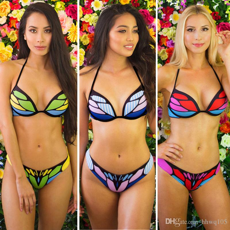 Cleared Bikinis with buttefly bottom
