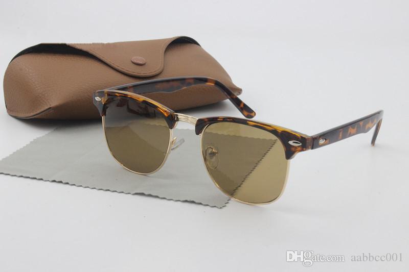 2595705a60b00 2018 Amber Optics Wholesale Top Quality Half Frame Designer Club ...