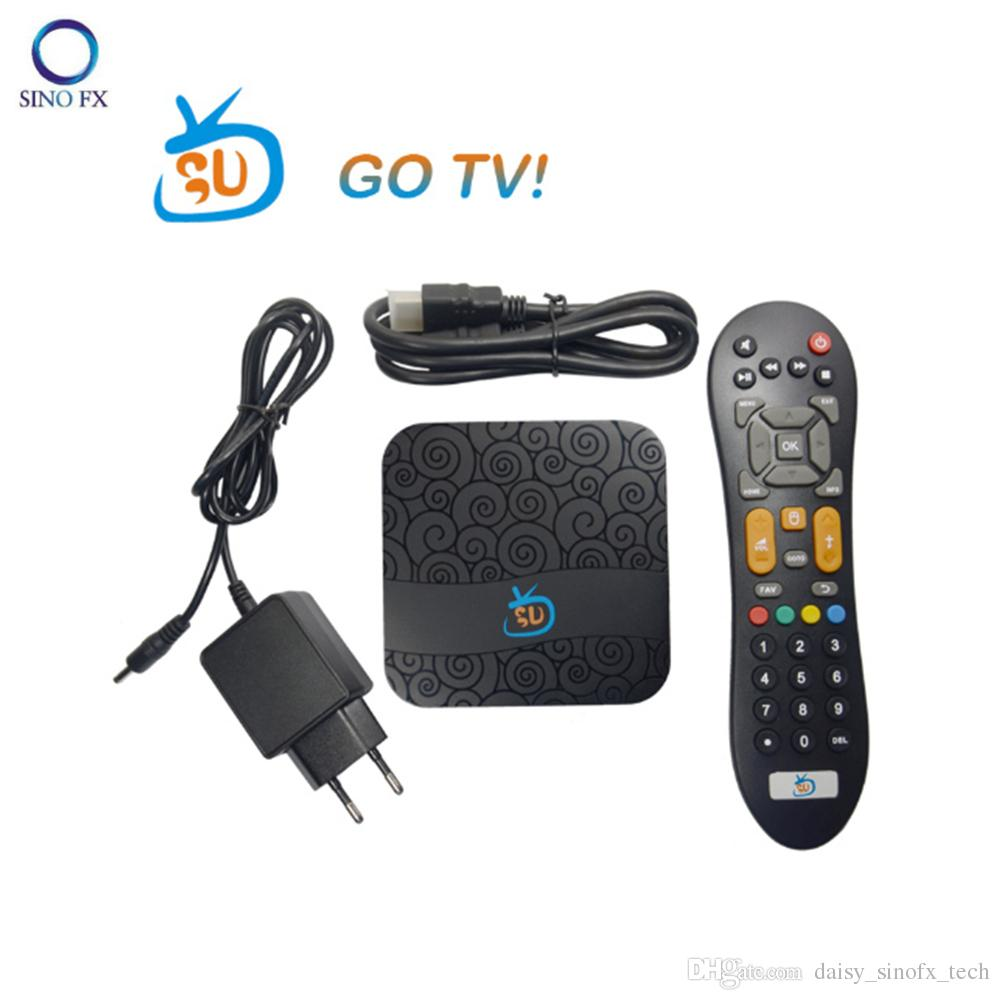 Brazil GOTV Android tv box Android 7 1 AMLS905X 1G8G 4K HD Android smart TV  box with 2year Brazil iptv Spanish Portuguese for Latin America