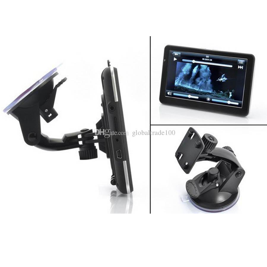 7 inch Car GPS Navigation Handheld Navigator Bluetooh Av In FM Transmitter MTK CE 128M 4GB/8GB Free NEW Mps Free DHL