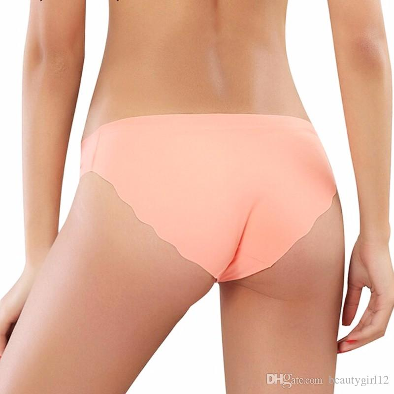 Hot Sale Fashion Women Seamless Ultra-thin Underwear G String Women's Panties Intimates briefs drop shipping