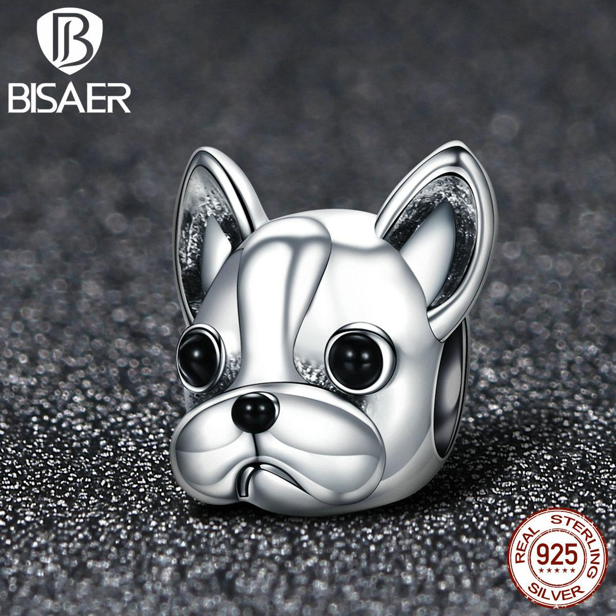 eef042ccb06 2019 925 Sterling Silver French Bulldog Lovely Dog, Cute Animal Animal  Beads Charms Fit Pan Bracelet Charms Silver 925 Original From Kwind, $32.09    DHgate.