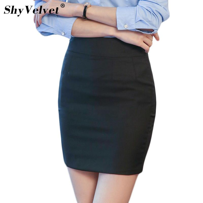 605d54ac8 2019 Ladies Tailored Suit Skirt Office Women OL Style Bodycon Pencil Skirts  Plus Size XXL 2018 Summer New Mini Sexy Work Wear Skirt From Hongyeli, ...