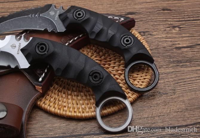 Qualität Strider - dunkle Schatten-Greifer Karambit kampierende Selbstverteidigungtaktik im Freien Xmas Messer