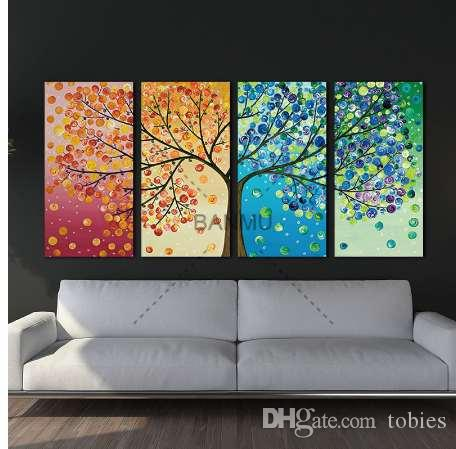 Nordic Decoration Forest Lanscape Wall Art Canvas Poster and Print Canvas Painting Decorative Picture for Living Room Home Decor