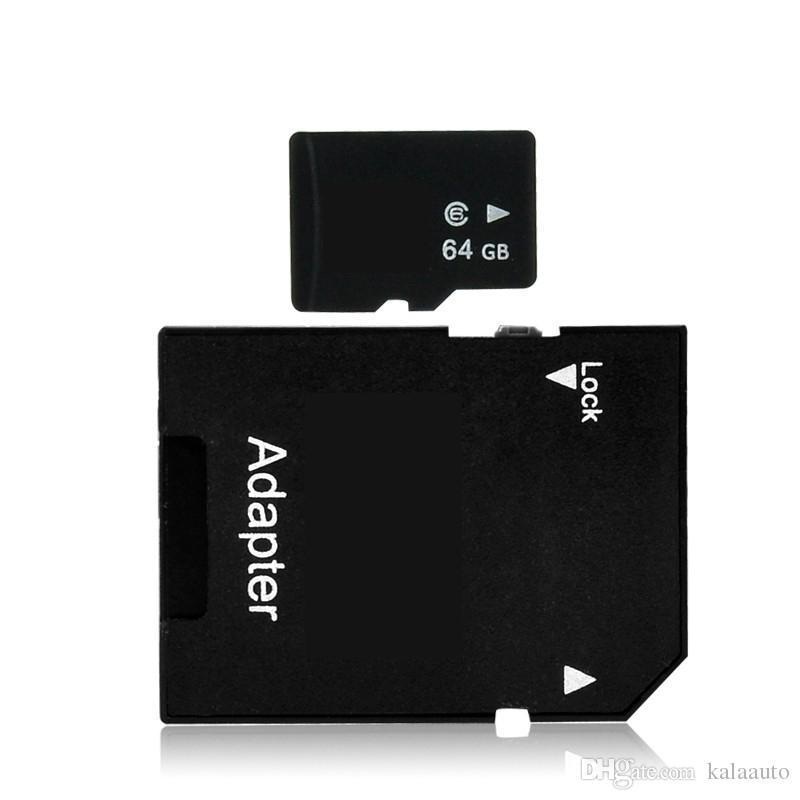 2018 128 GB Classe 10 TF Cartão De Memória 128G Cartão para Smart Phones Tablets Netbooks Frete Grátis