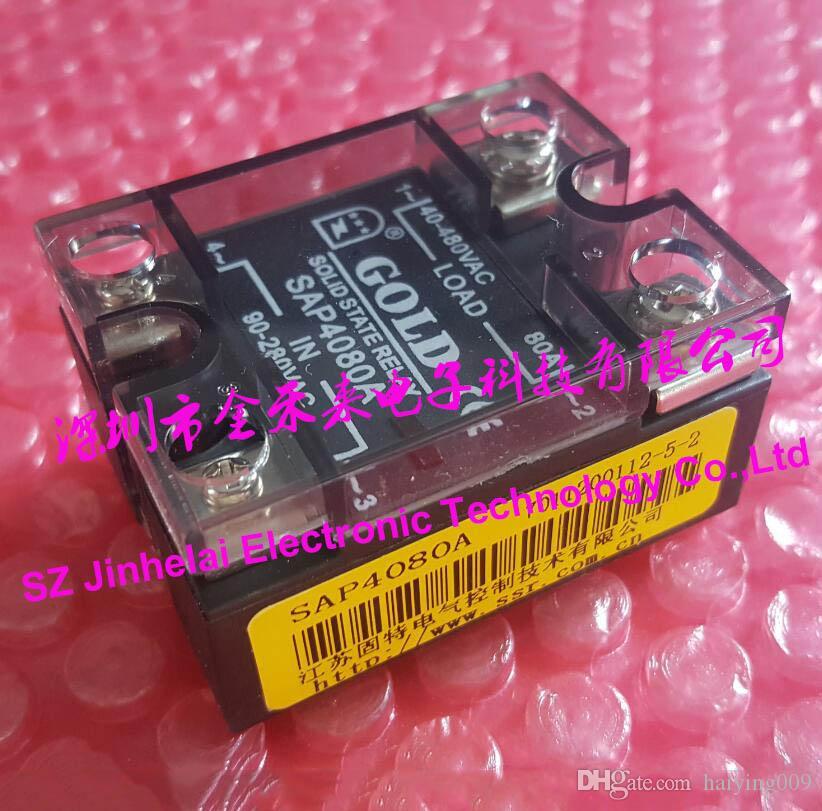 100% Nuovo e originale SAP4080A GOLD Monofase AC Relè allo stato solido 90-280VAC 40-480VAC 80A