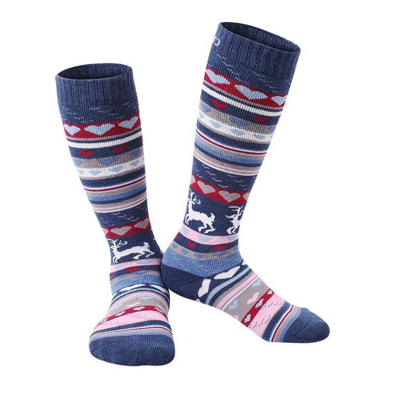 c0e75f0b2 Sports sock children's snow ski socks winter warm sock knee high quick dry  thicken thermal kids boy's girl's snowboarding socks