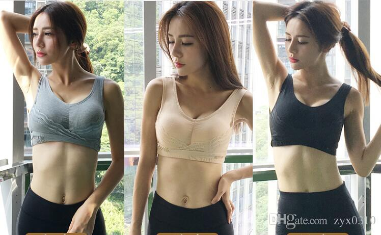 Pure cotton brassiere without steel ring ,a young girl's LACE VEST adjusted sports underwear