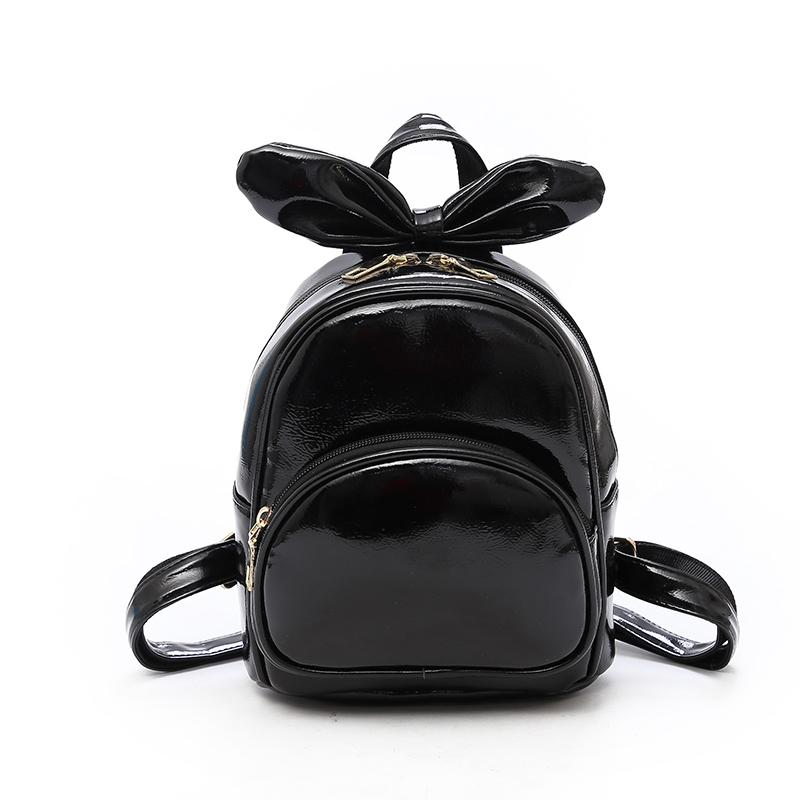 Women Lady Style Backpack High Quality PU Bag 2018 New Spring Products Backpack Mini Shoulder Bag Cute Rabbit Ear Small