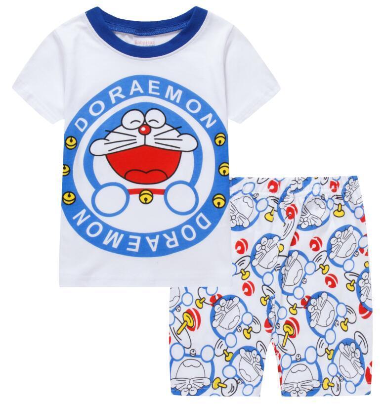 1ad4ef2500b0 Cheap Price Summer Children Cartoon Pyjamas Clothing Sets Boys Girls ...
