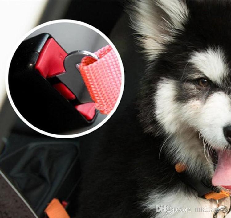 2.5X75 CM Ayarlanabilir Araba Araç Emniyet Emniyet Kemeri Emniyet Kemeri Demeti Kurşun için Kedi Köpek Pet krallık 2018