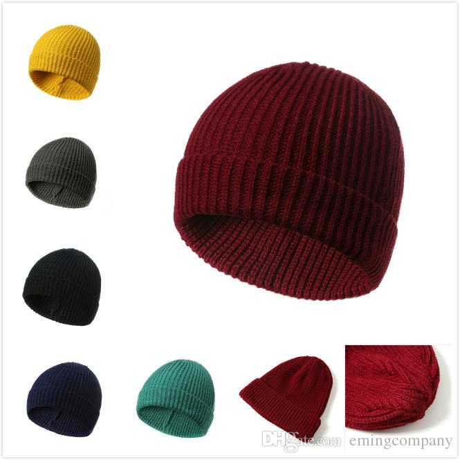 b82002de638 Designer Acrylic Knitting Pattern Sport Cable Beanies Hats Winter Warmer  Rib Hats For Adults Autumn And Winter Ski Caps For Men And Women Hats For  Sale Hats ...