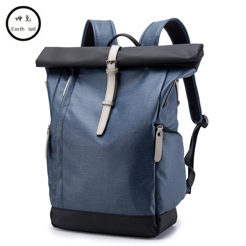 NEW Men Laptop Backpacks Anti Theft Backpack Women School Notebook Bag  Waterproof Nylon Travel Leisure Bags Stitching Schoolbag Running Backpack  Osprey ... e6433a26d4803