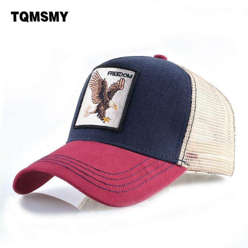 e8cbf3380bc Casual Baseball Caps For Men Embroidery Eagle Snapback Cap Women Summer  Mesh Trucker Bones Unisex Hip Hop Hat Cotton Casquette Custom Hats Mens Hats  From ...