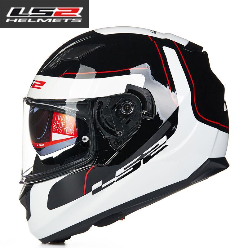 c60403e7320 New LS2 FF320 Motorcycle Helmet Dual Lens Full Face Helmets Professional  Men Capacete Casco Racing Moto Helmets DOT Approved Good Cheap Motorcycle  Helmet ...