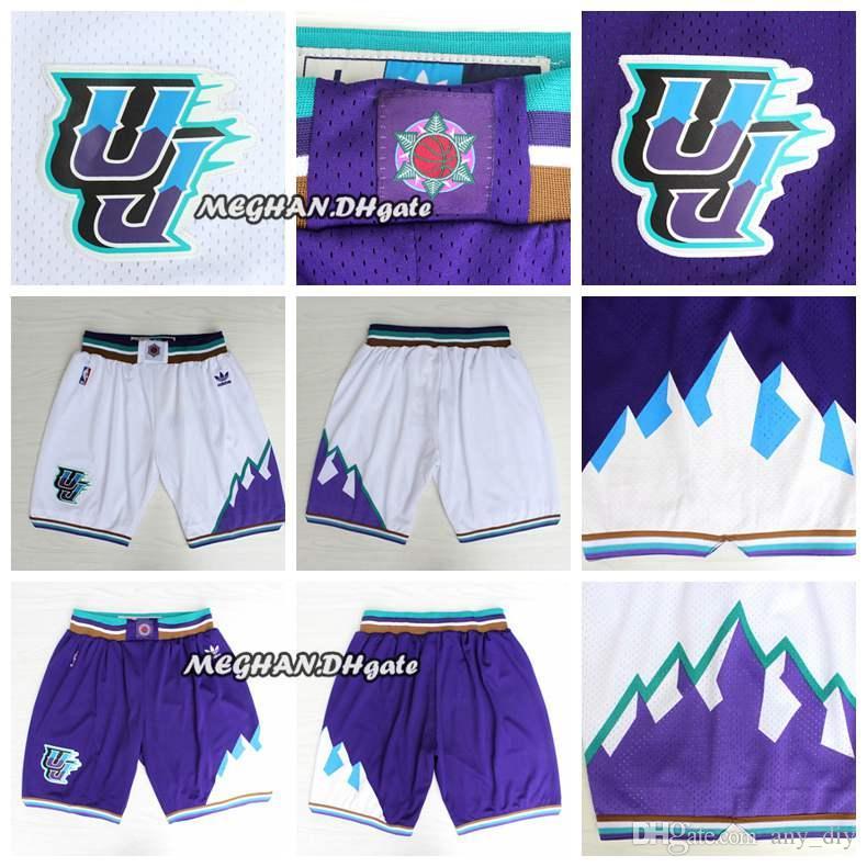 2018 Men Utah Jazz Retro Donovan Mitchell Pants Mitchell Short Grayson  Allen Breathable Sweatpants Team Classic Sportswear Wear Shorts From  Opojersey 28973b89850c