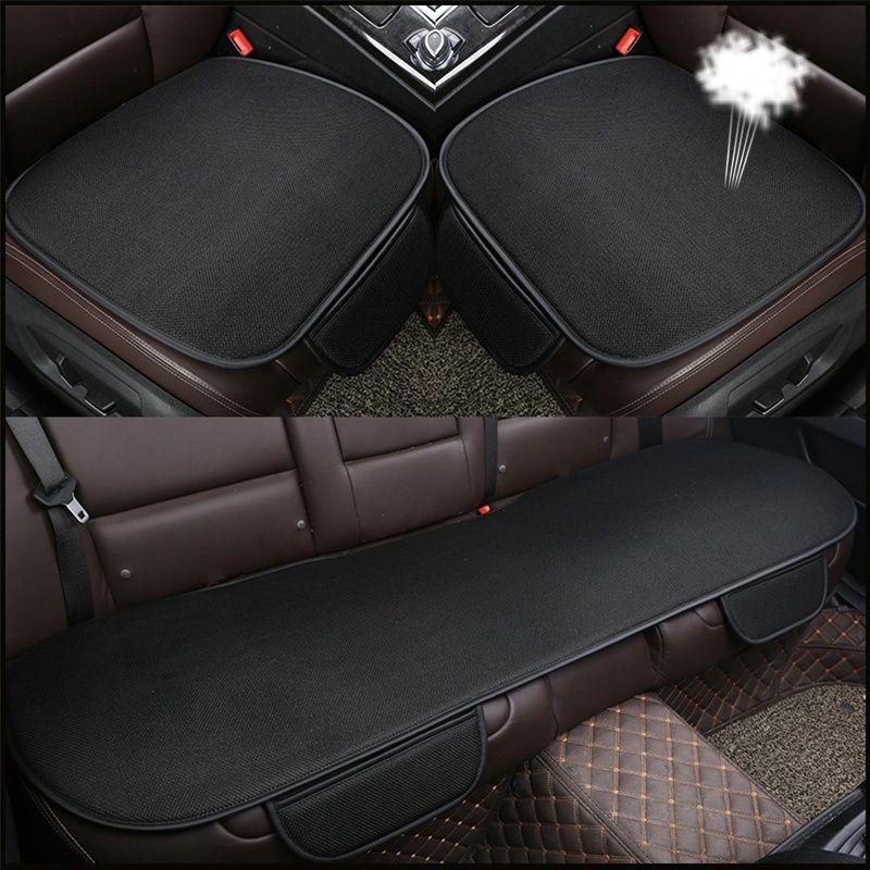19566bd5cc47 Universal Summer Car Seat Covers Set Cushion Ice Silk Mat Anti-Slip ...